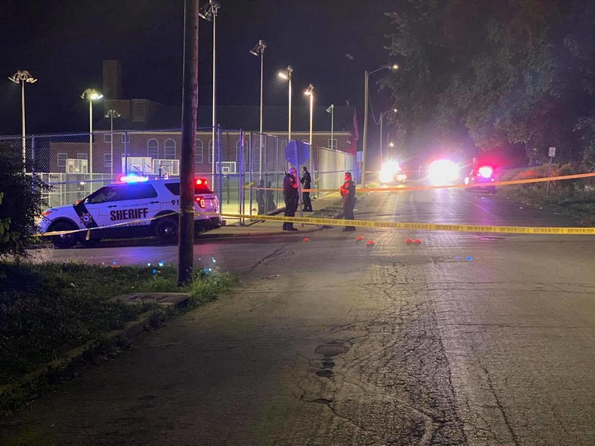 Five people sent to hospital after shooting