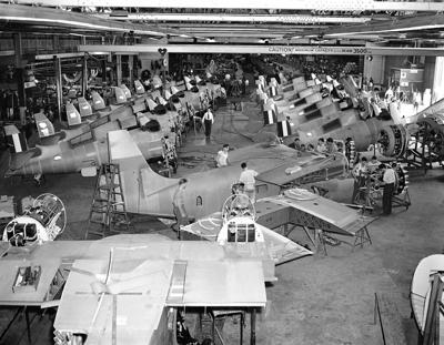 WWII Grumman Wildcats 1942