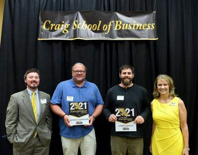 Two entrepreneurs recognized for business prowess