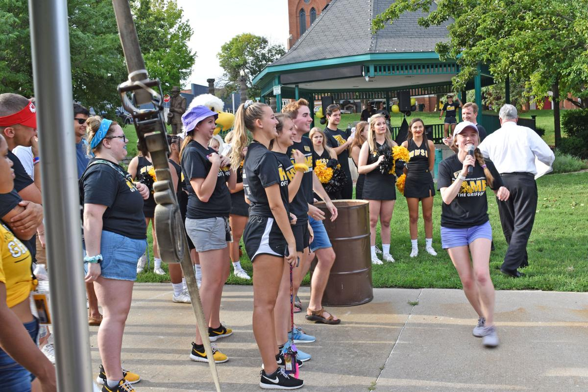 Griff Up Downtown welcomed the Class of 2023 to Coleman Hawkins Park