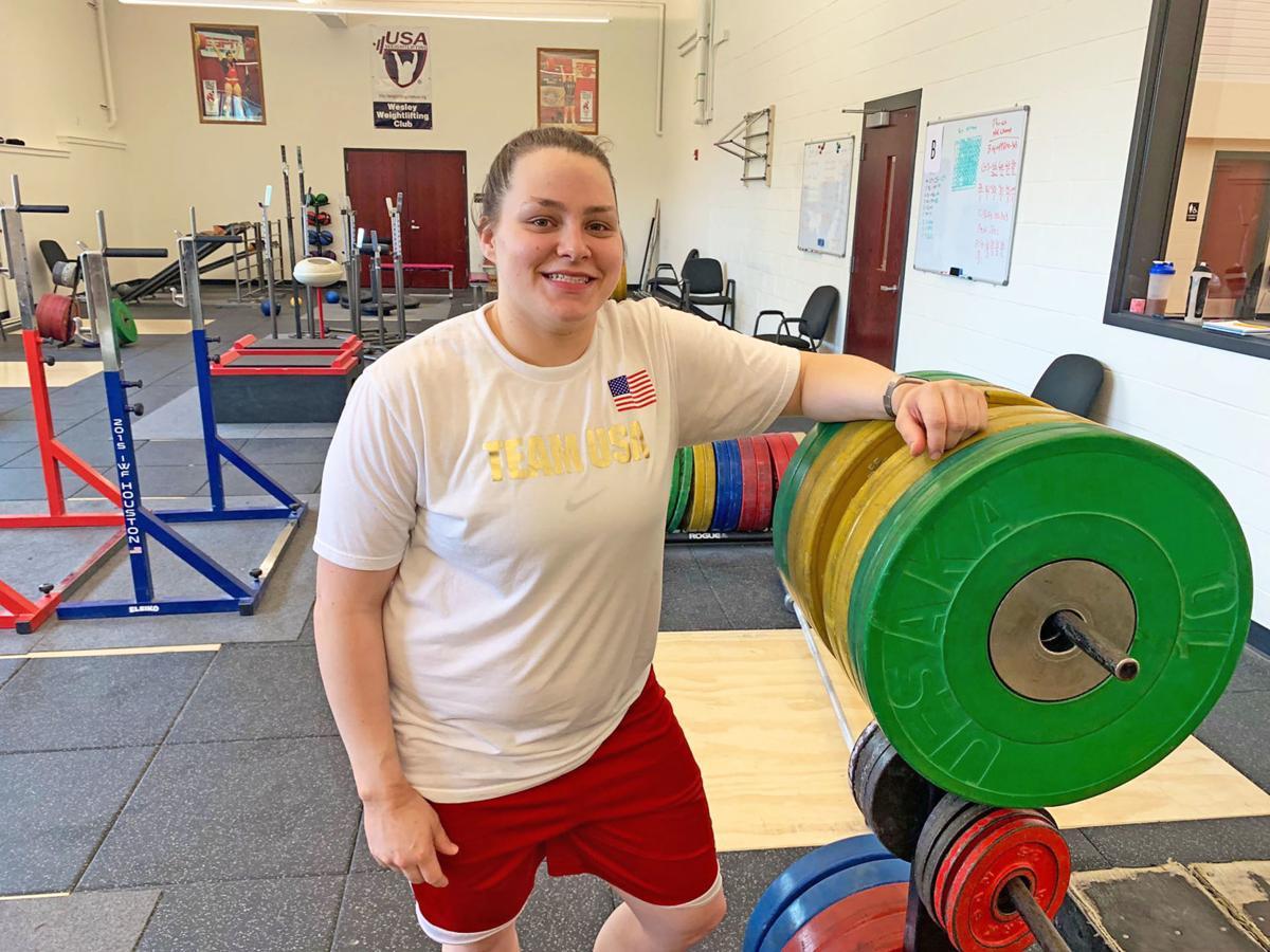 U S Weightlifting Champion St Joseph Local Embarks On Olympic Journey Sports Newspressnow Com