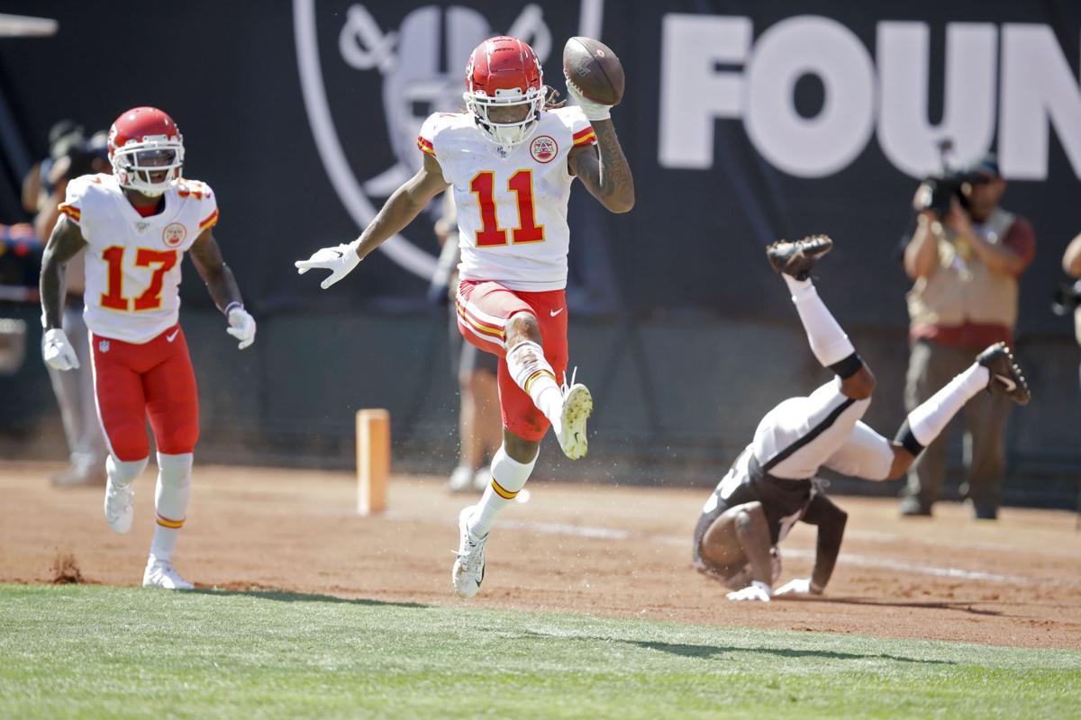 APTOPIX Chiefs Raiders Football