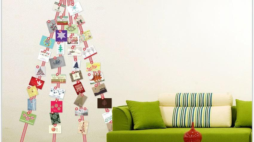Home Decor: How to display those holiday cards