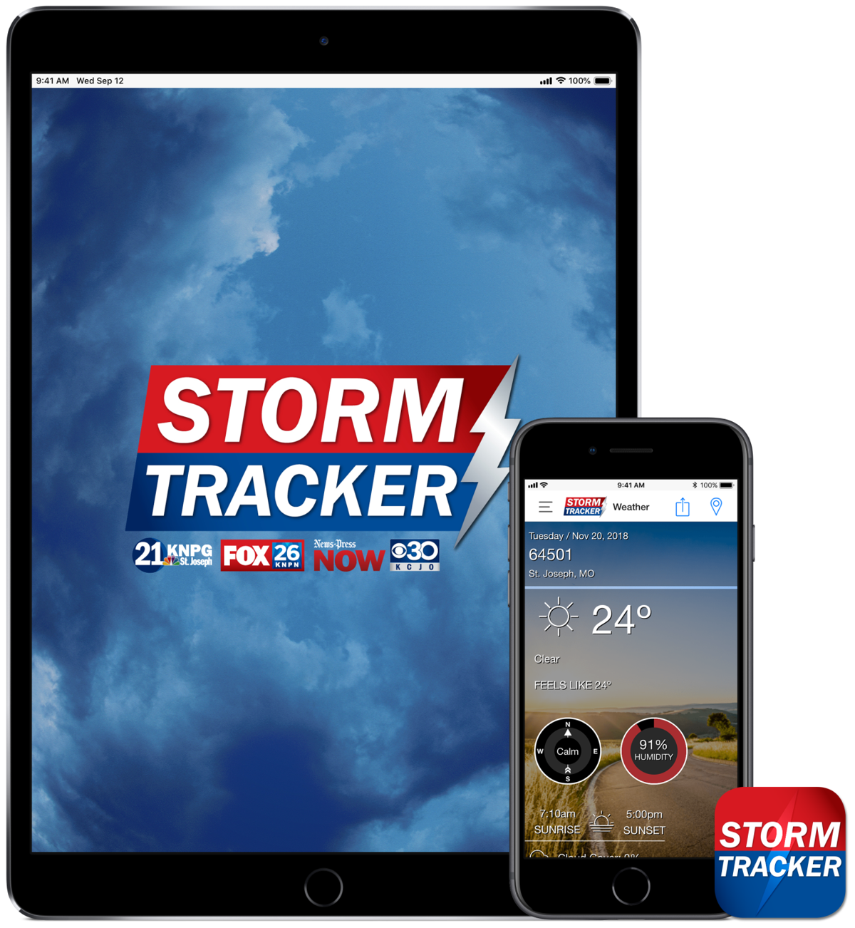 Storm Tracker Weather App