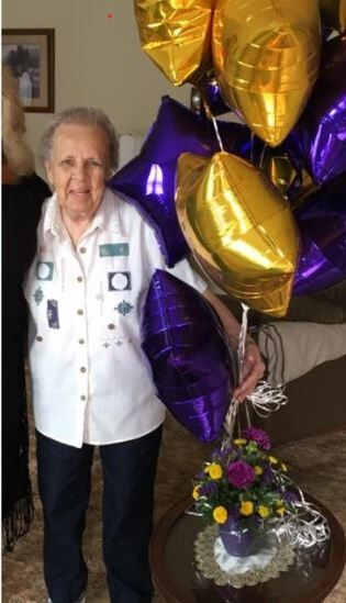 Delores Keller is turning 90!