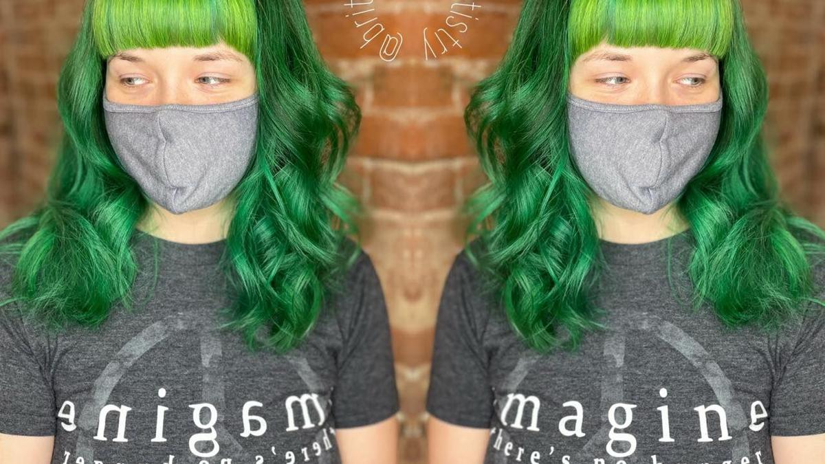 Color can make hair stand out