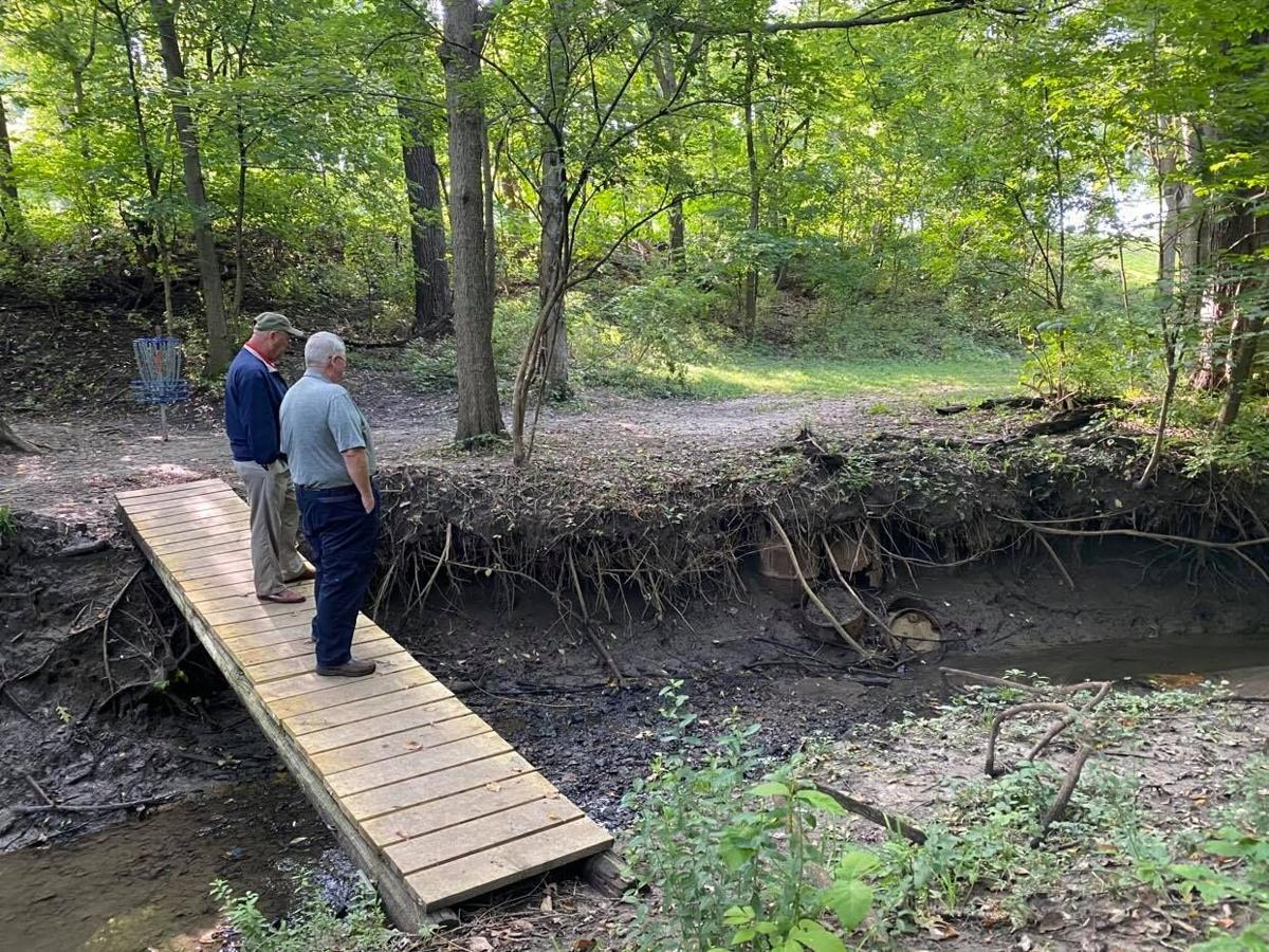 55-gallon barrels discovered in creek bed