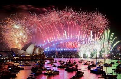 APTOPIX Australia New Year