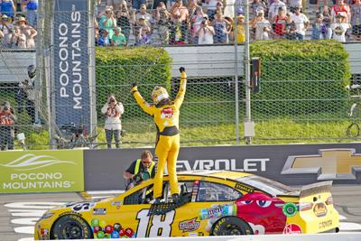 Despite car troubles, win at Pocono Auto Racing