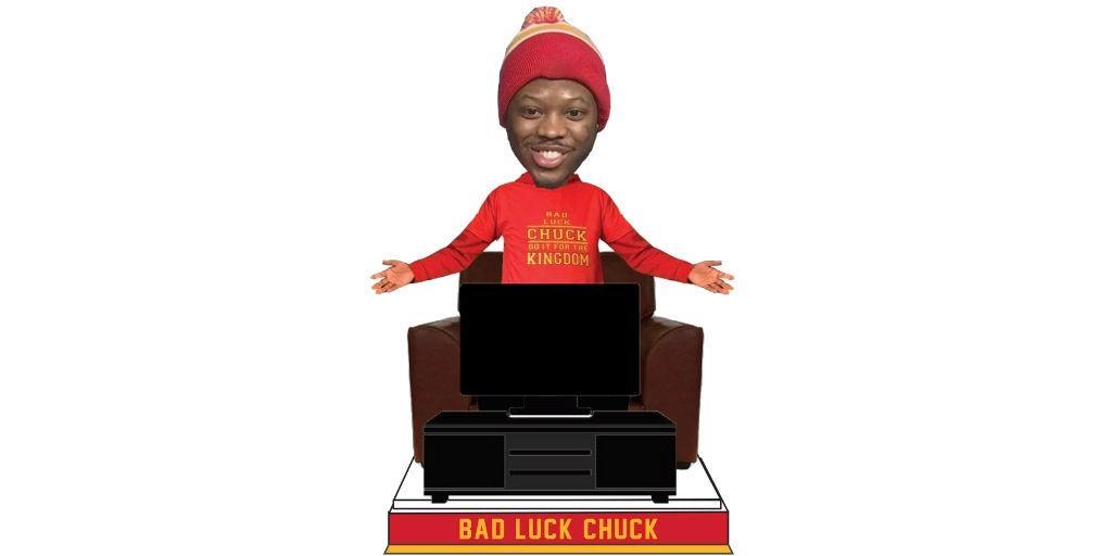 Bad Luck Chuck Bobblehead