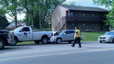 Crash involving city vehicle