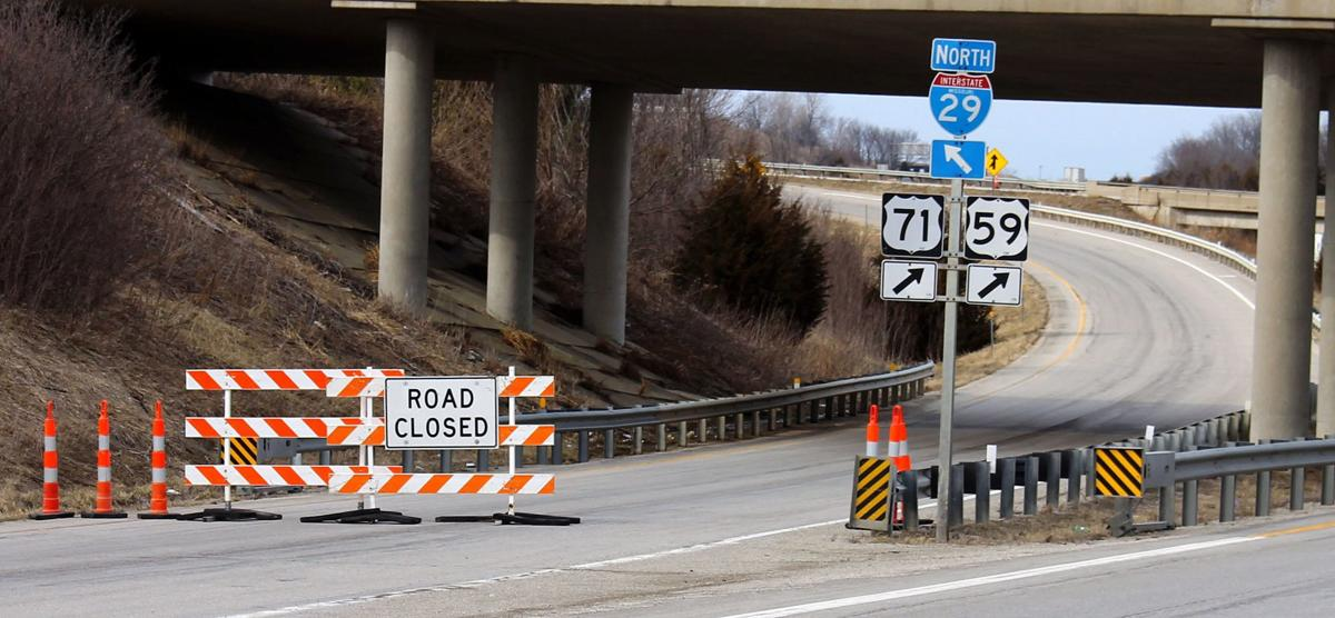 Flood waters move south, cover I-29 | Local News