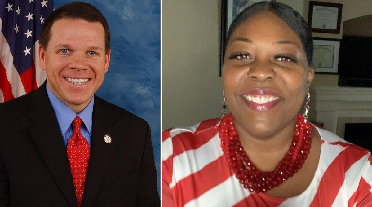 Rep. Sam Graves and Dr. Gena Ross