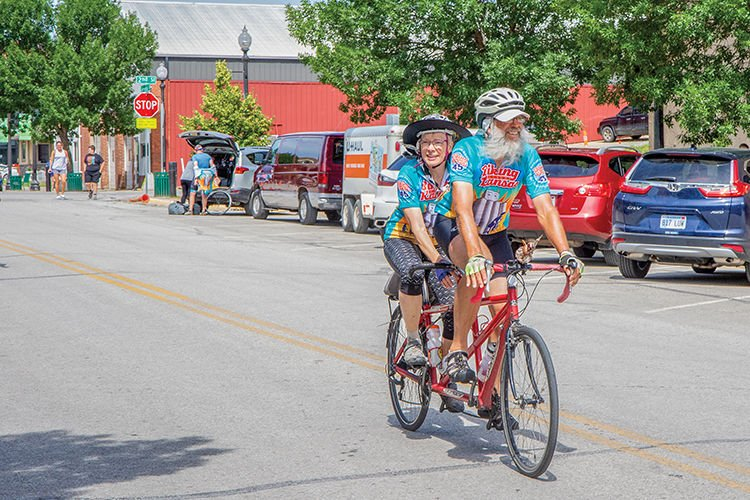 Biking Across Kansas