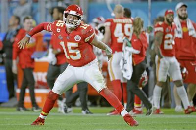 49ers Chiefs Super Bowl Football
