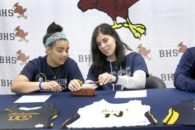 Benton signings