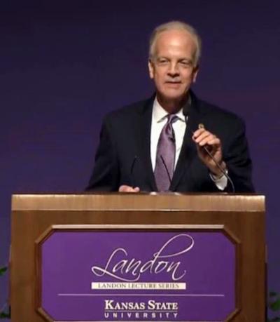 Sen. Jerry Moran delivers Landon Lecture