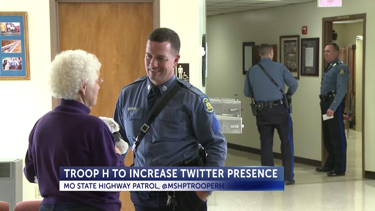WATCH: Troop H increases presence on Twitter | Video Gallery