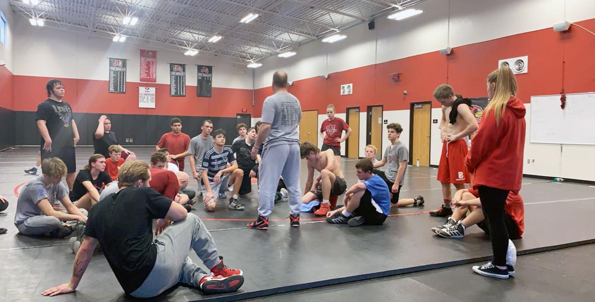 Benton wrestling