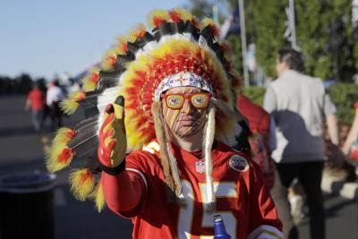 Chiefs Fans Native Imagery