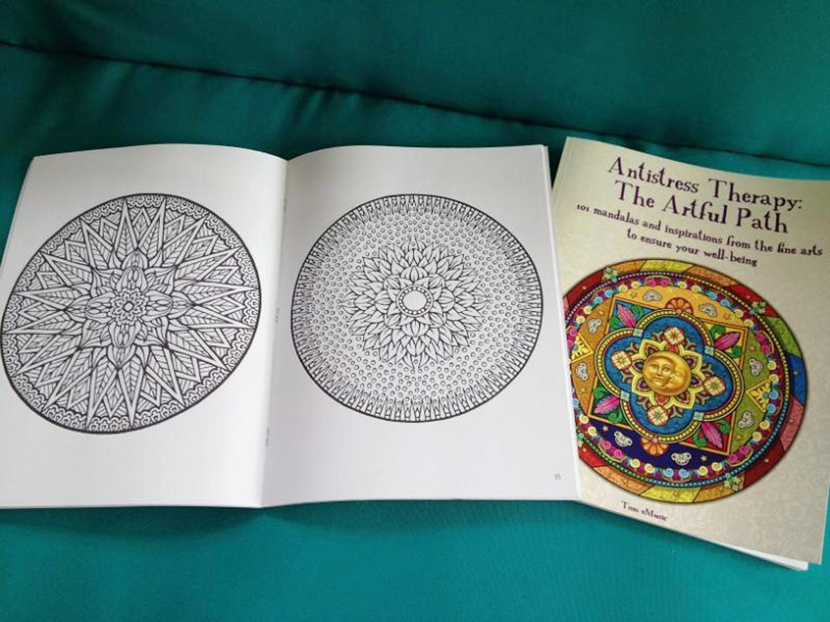 More Adults Using Coloring Books For Fun Stress Relief