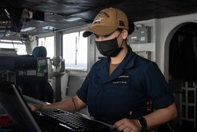 Navy sailor from Amazonia