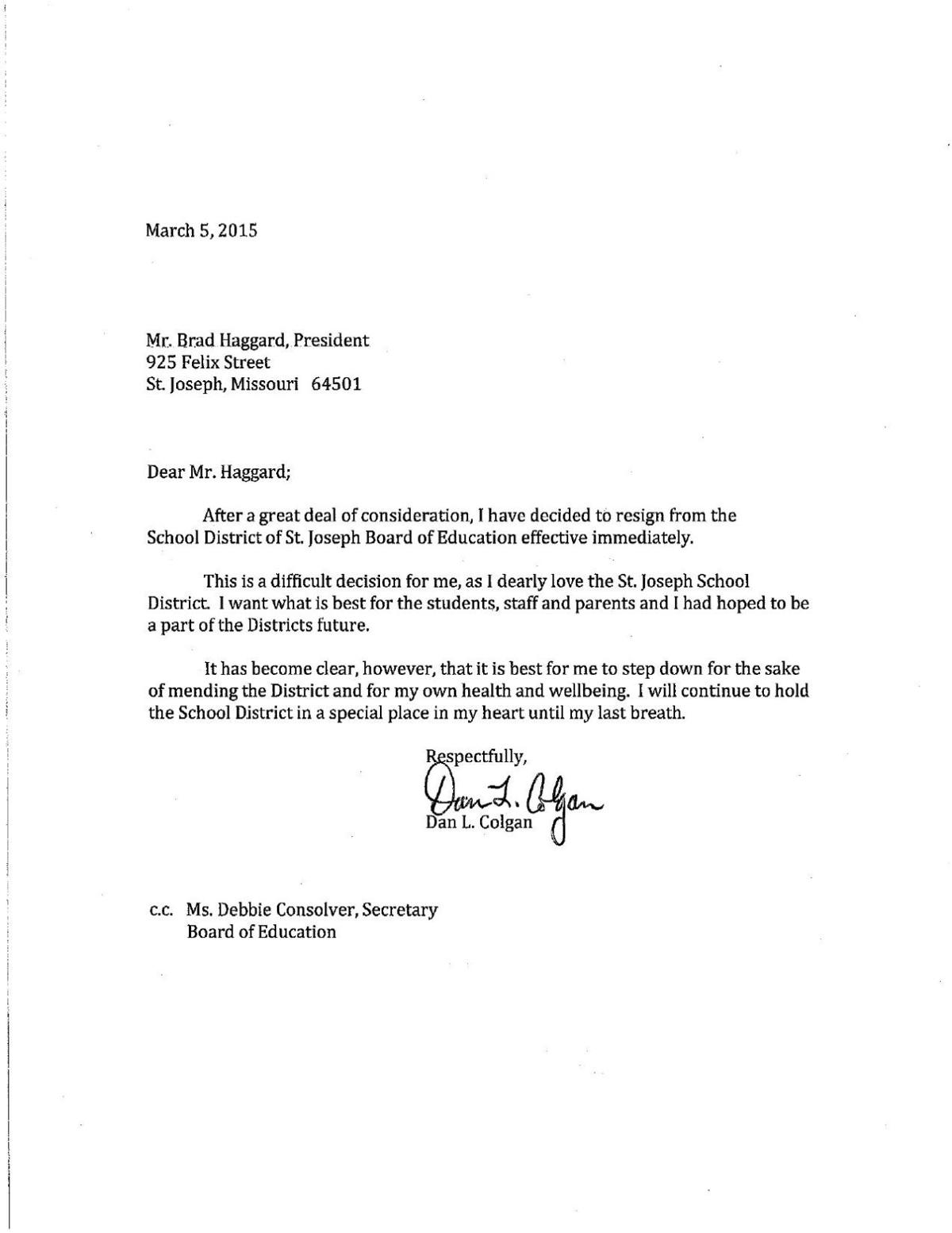 Letter Of Resignation From A Board from bloximages.newyork1.vip.townnews.com