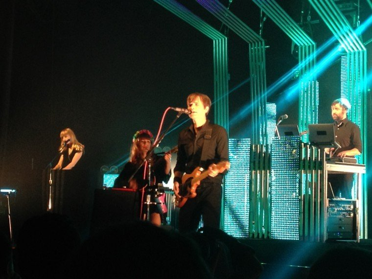 Concert Review The Postal Service At The Midland Concert