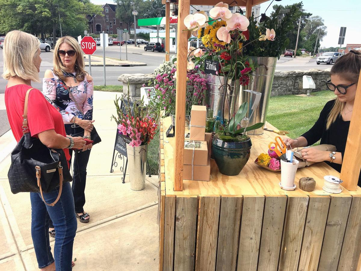 Flower Cart Blooms Across Town Business Newspressnow