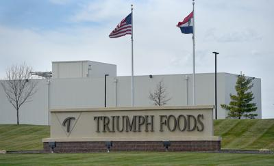 Triumph Foods testing for COVID-19 top 350