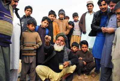 Afghan refugees tell U.N.: 'We need peace, land to go home'