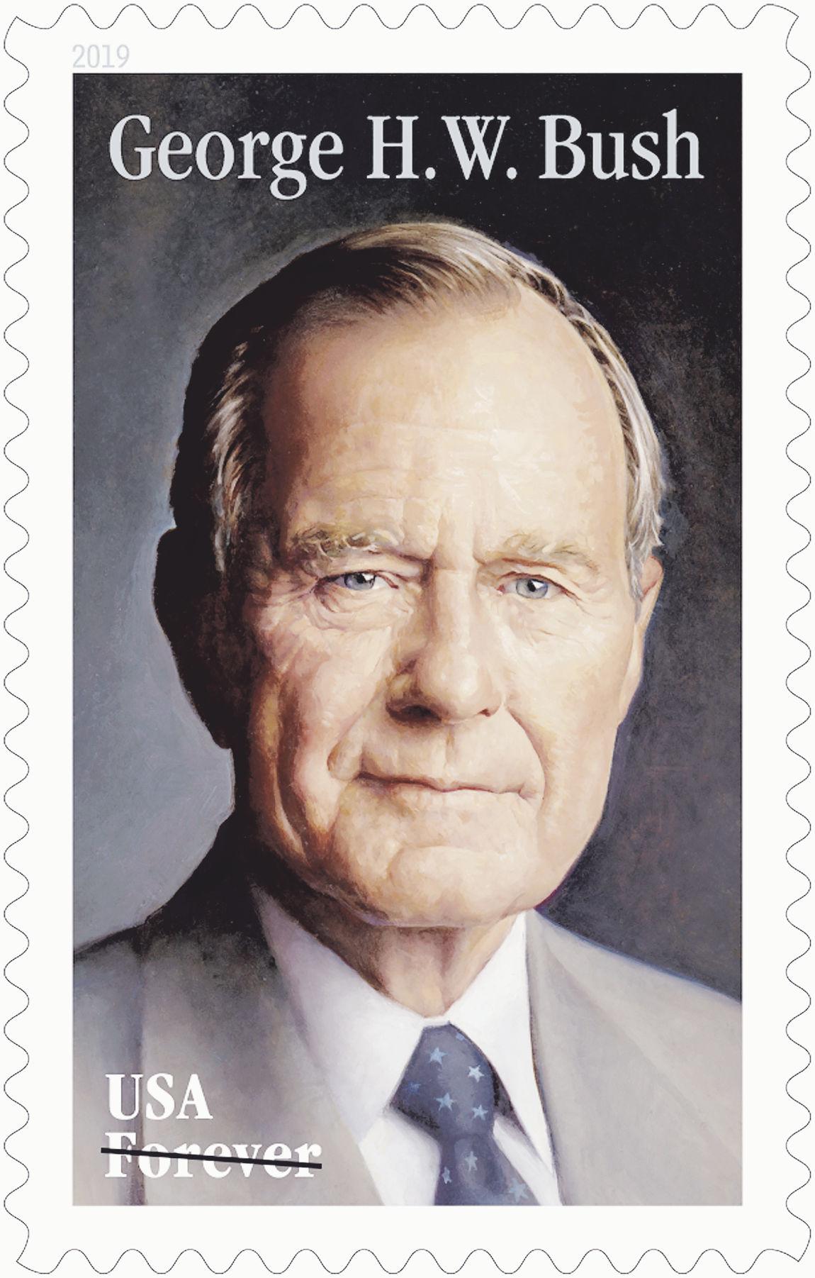 George HW Bush Stamp