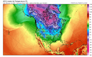 Polar vortex sending extreme winter weather into the Midwest