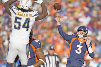 Chargers Broncos Football