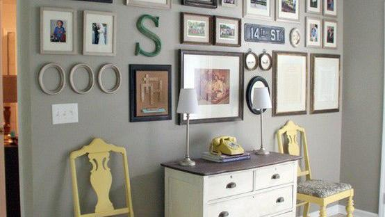 Home Decor: Gallery walls