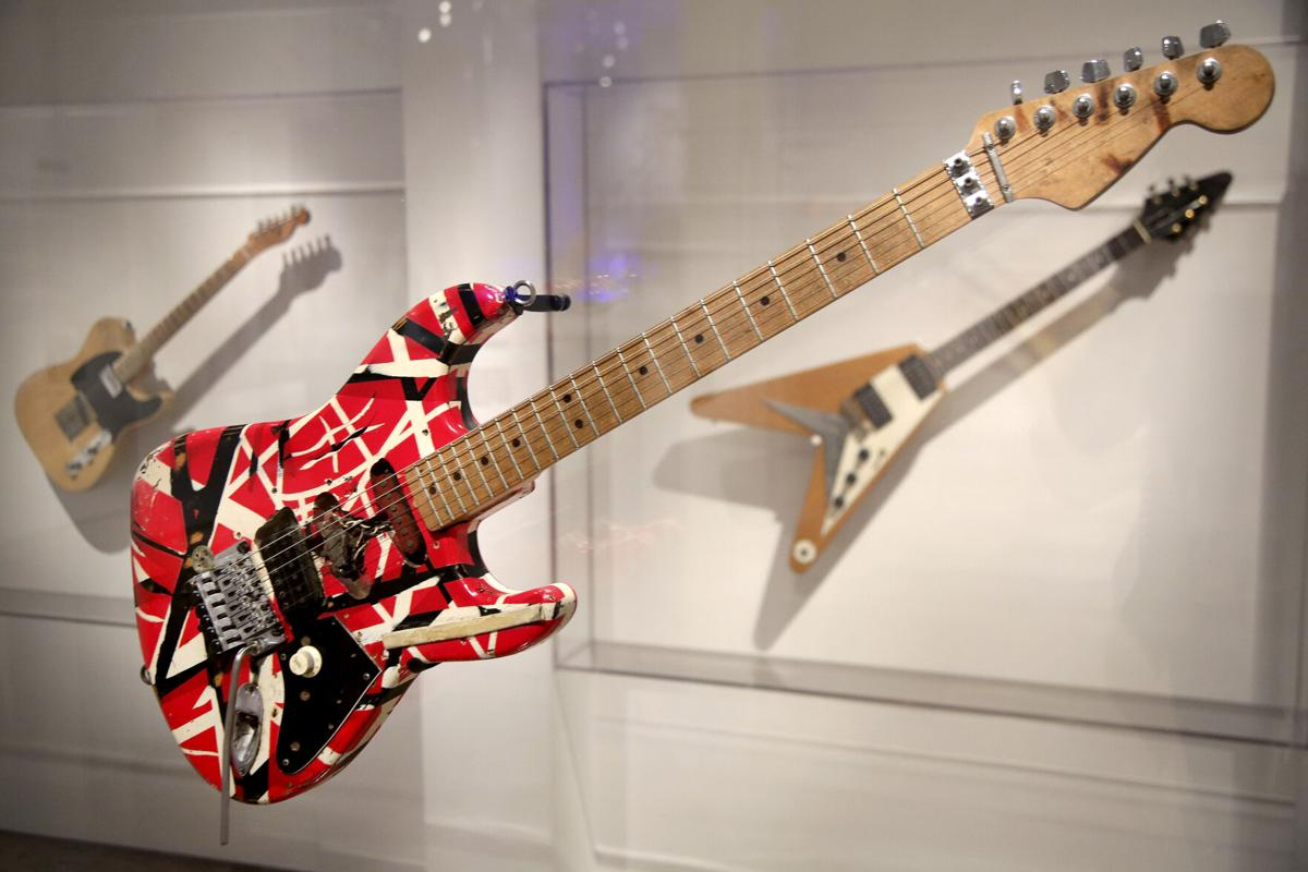 Rock And Roll Instruments Exhibit
