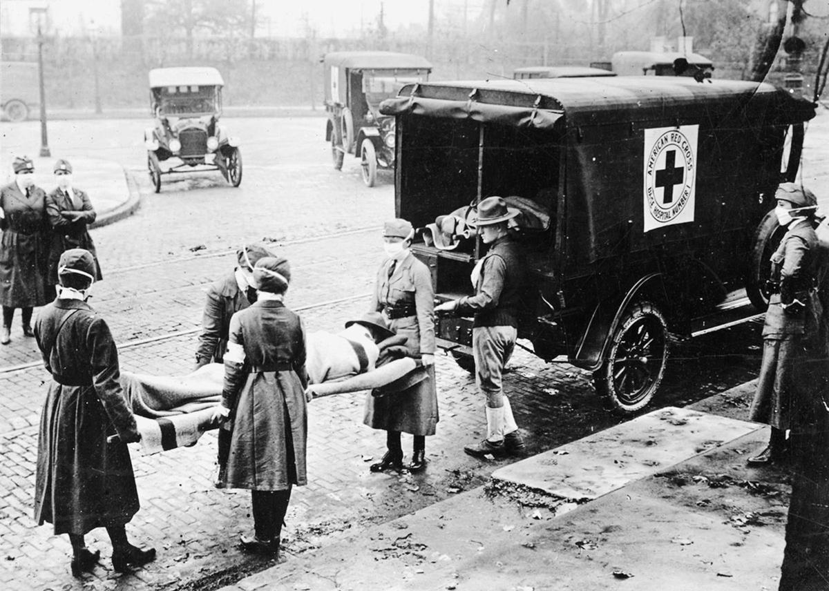Motor Corps of the Red Cross, 1918