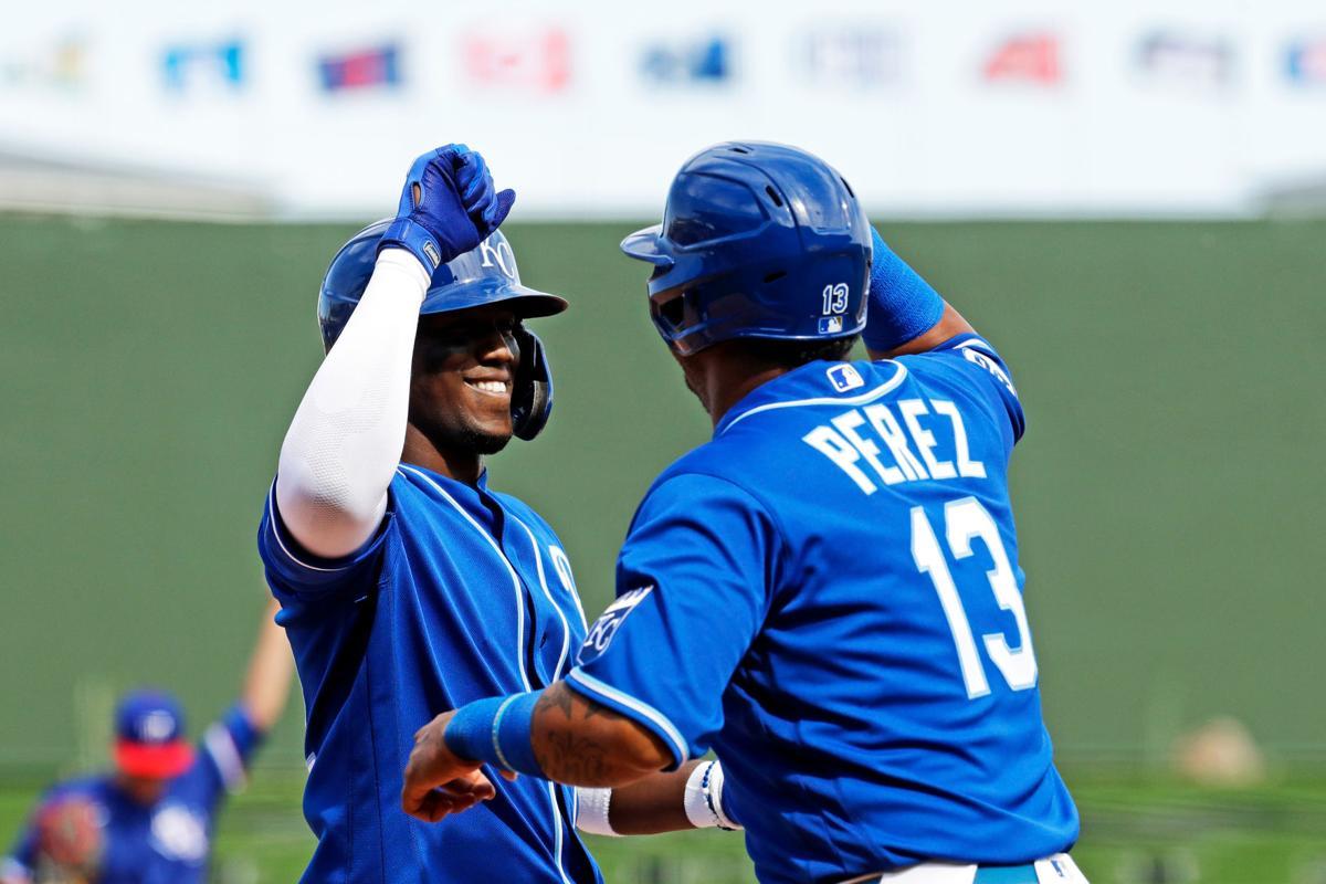 Rangers Royals Spring Baseball