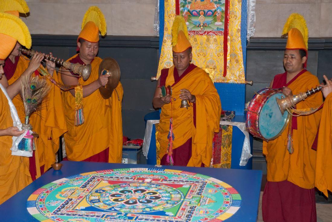 Tibetan Monks coming to the Cincinnati Art Museum