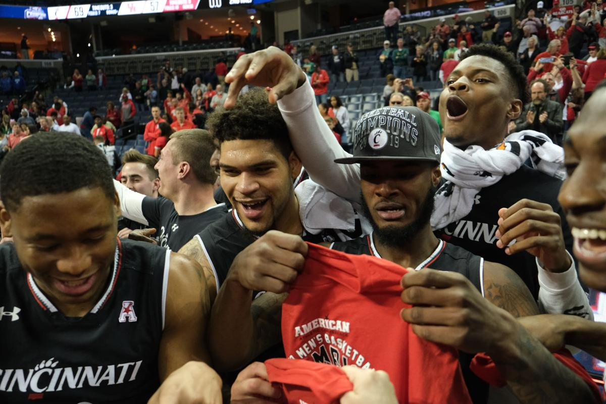 POSTGAME: Bearcats defeat Cougars 69-57 in AAC Tournament championship