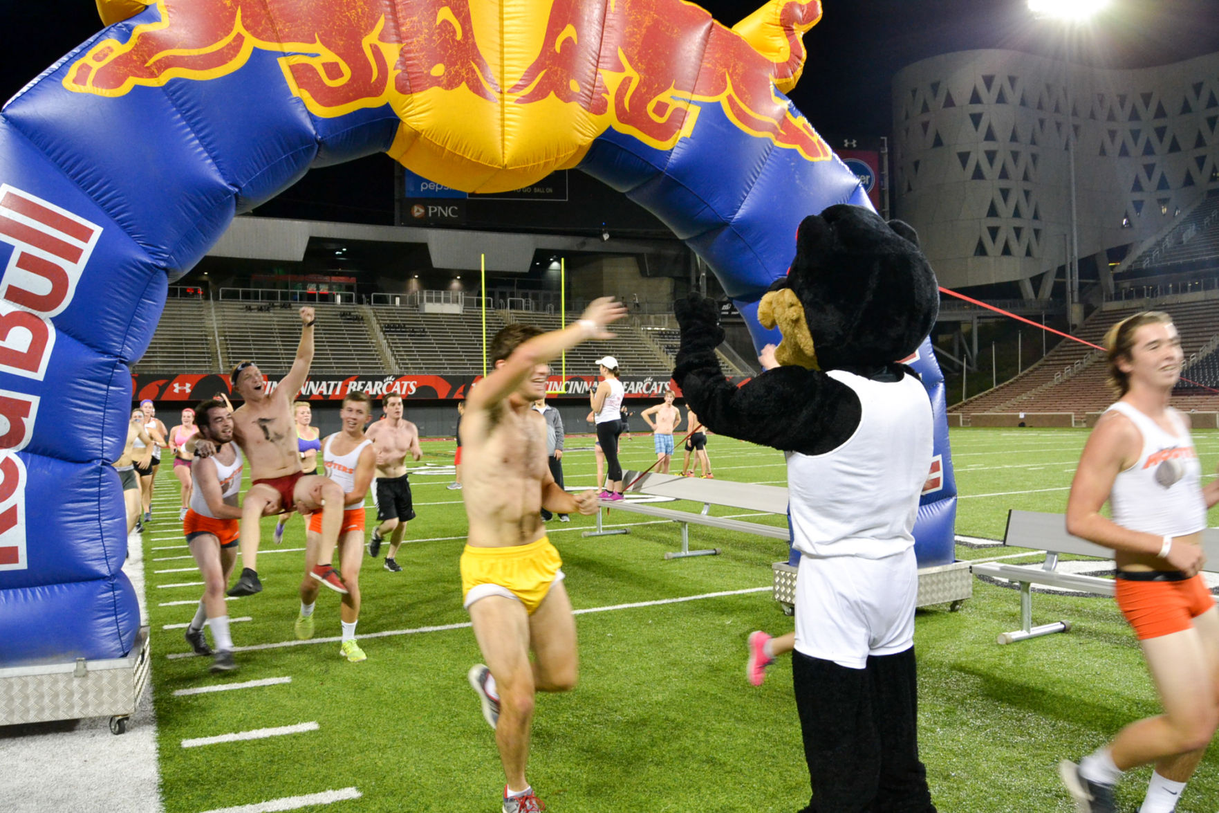 College mile naked
