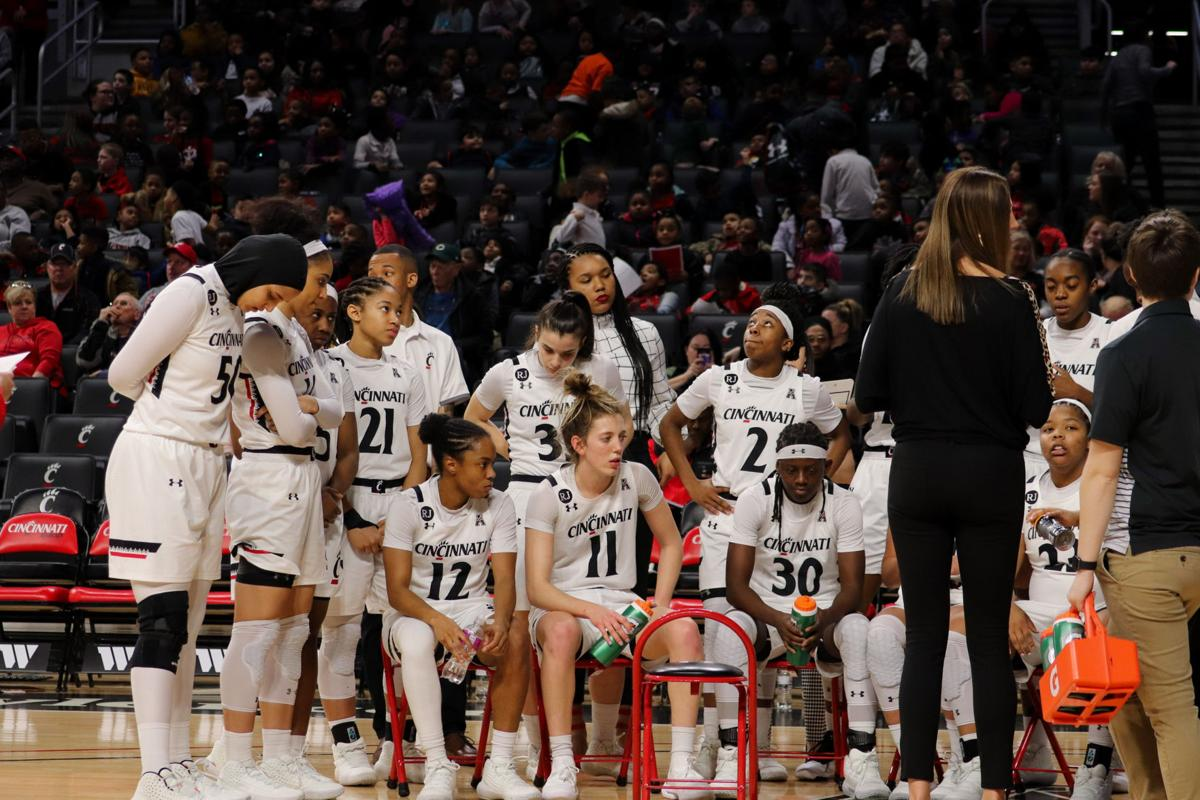 UC women's basketball puts on a show in comeback victory