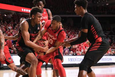 PHOTOS: UC's 85-69 loss against Houston | March 10, 2019 (copy)