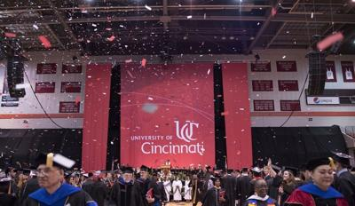 UC graduation ceremony