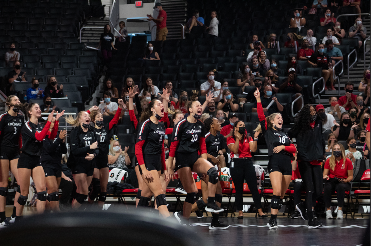 UC Volleyball vs Pittsburgh (1 of 2)