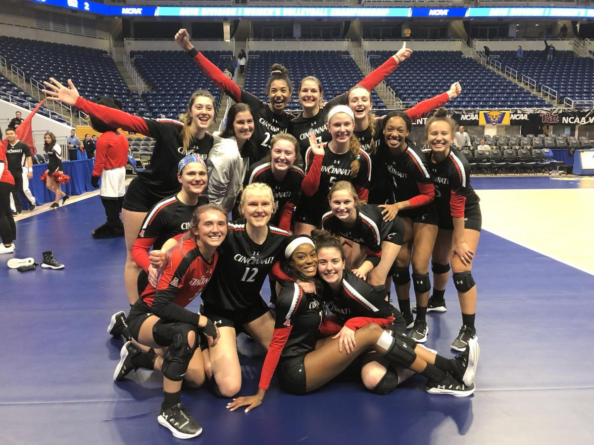 UC volleyball: Bearcats advance to Sweet 16 in NCAA Tournament