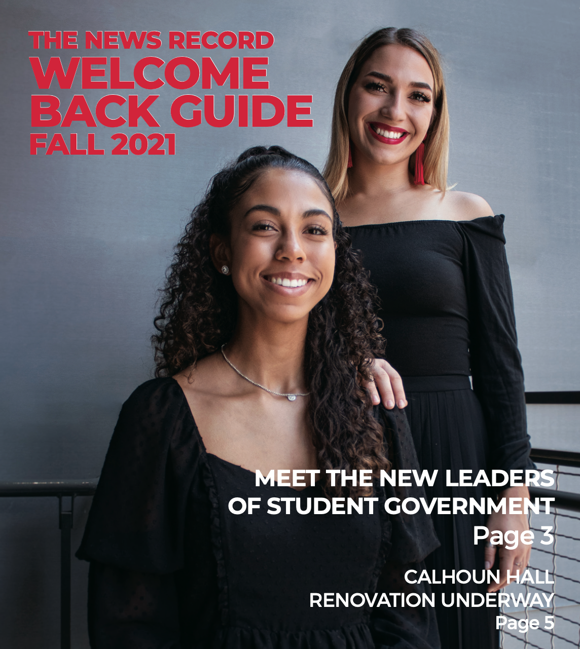 The News Record Welcome Back Guide Fall 2021