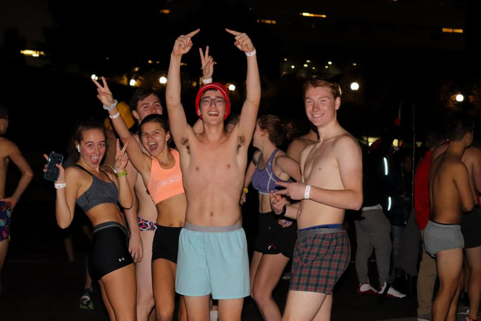 UC students strip naked with male professor and perform