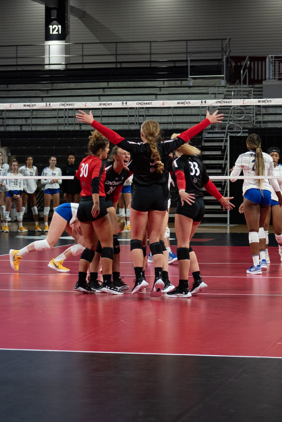 UC Volleyball vs Pittsburgh (2 of 2)