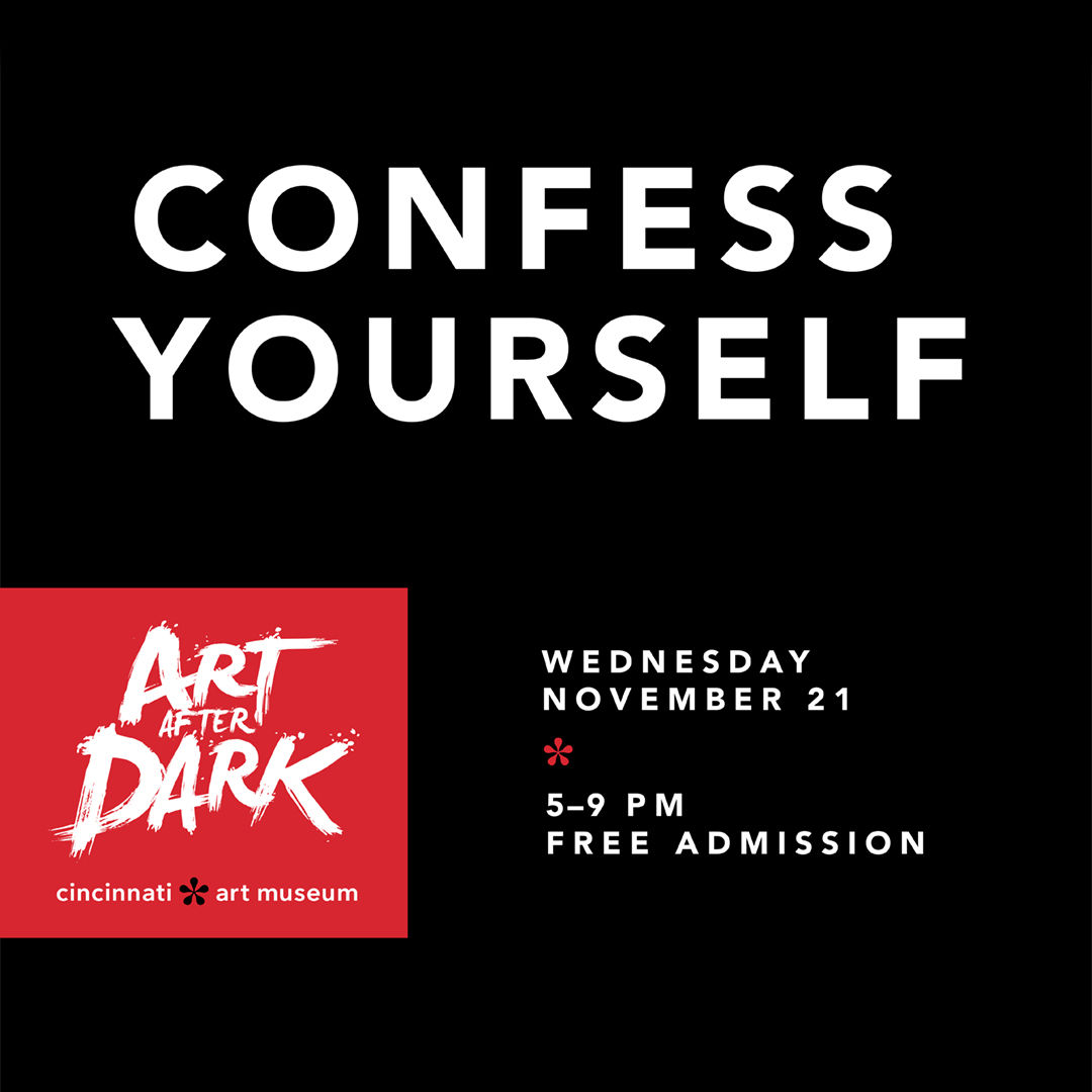 Art After Dark at the Cincinnati Art Museum 11/21/2018